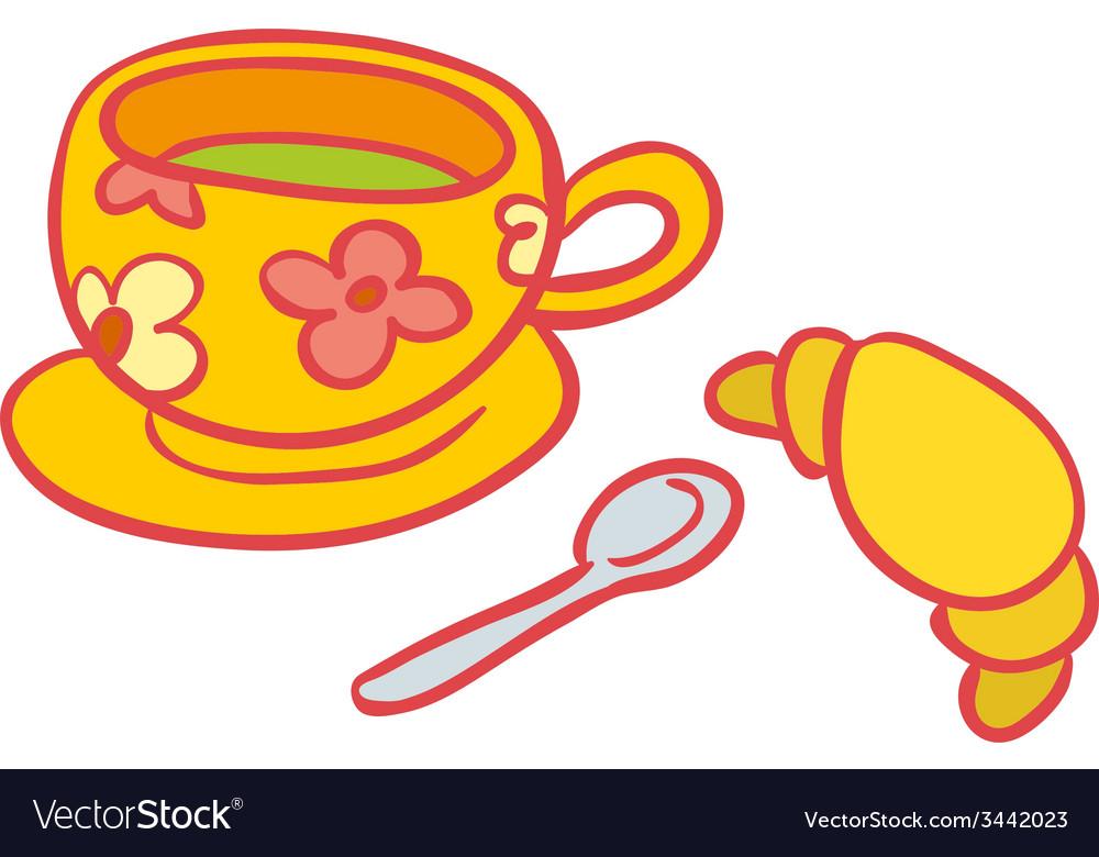 Morning breakfast vector   Price: 1 Credit (USD $1)