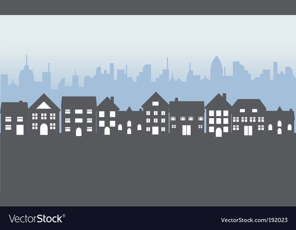 Town vector | Price: 1 Credit (USD $1)
