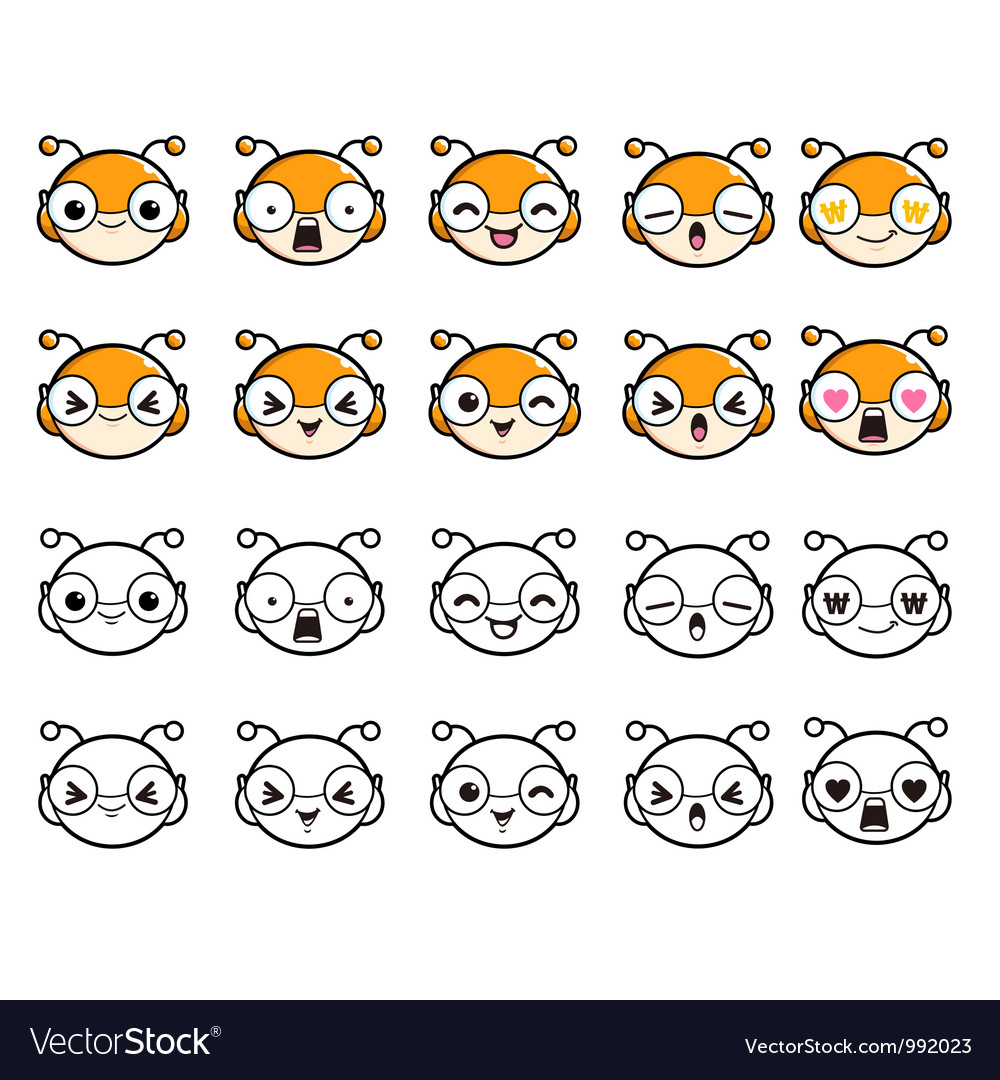 Various expressions of bug character vector | Price: 3 Credit (USD $3)