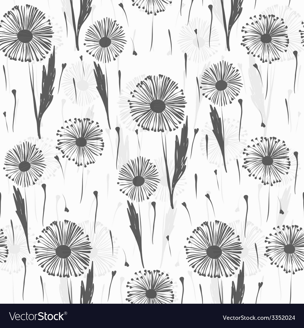 Background with dandelions vector   Price: 1 Credit (USD $1)