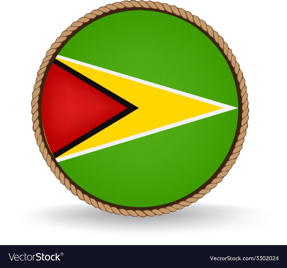 Guyana seal vector | Price: 1 Credit (USD $1)
