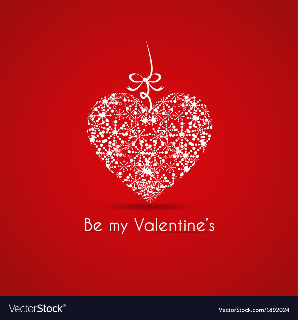 Valentines card with a gift vector | Price: 1 Credit (USD $1)
