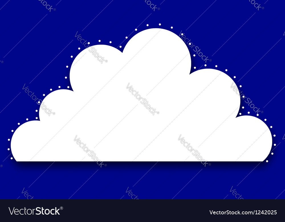Cloud royal vector | Price: 1 Credit (USD $1)