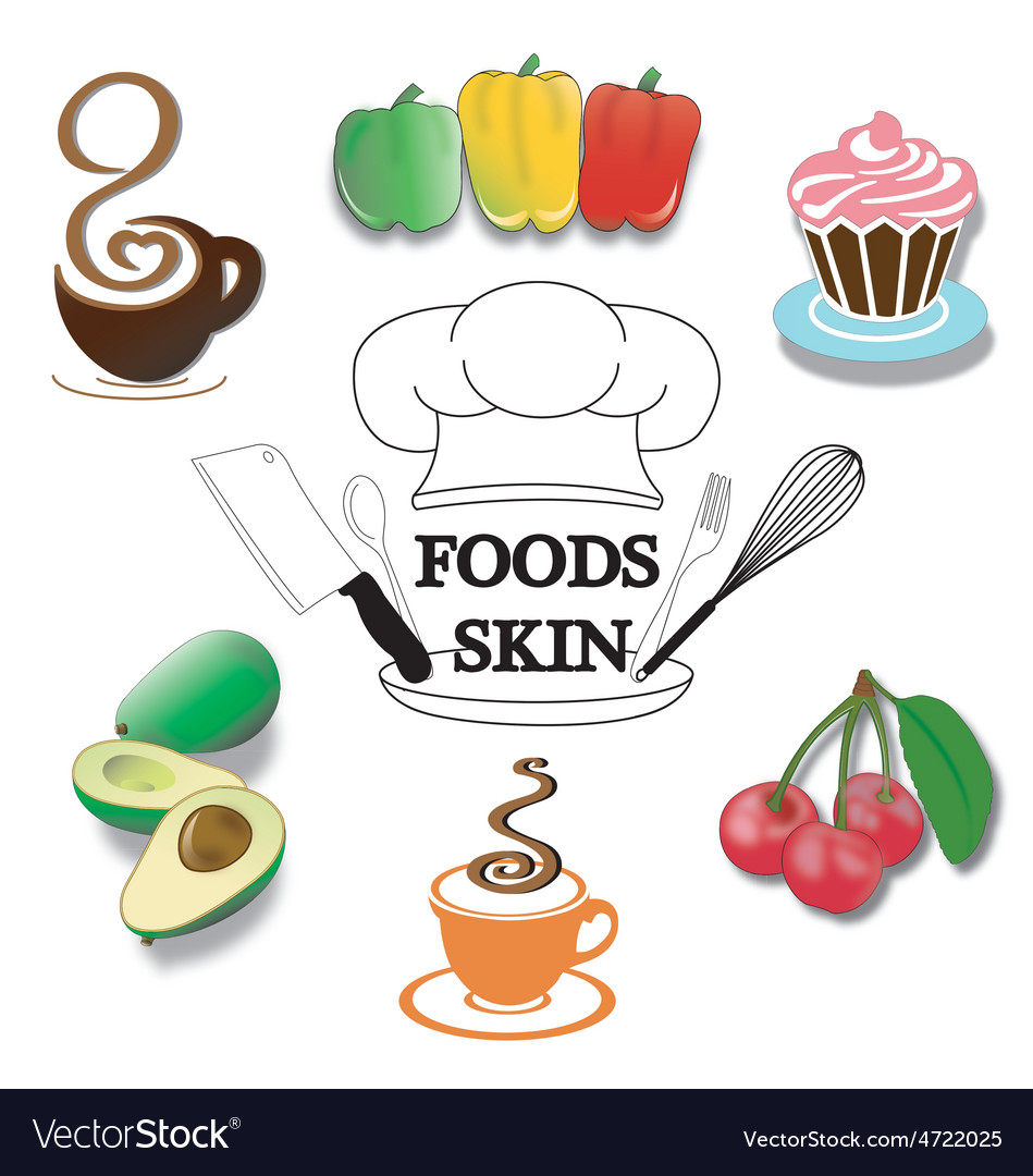 Foods-skin vector | Price: 1 Credit (USD $1)