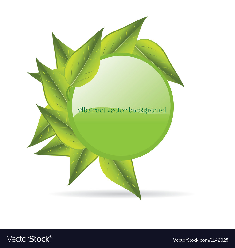 Leaves with copy space vector | Price: 1 Credit (USD $1)