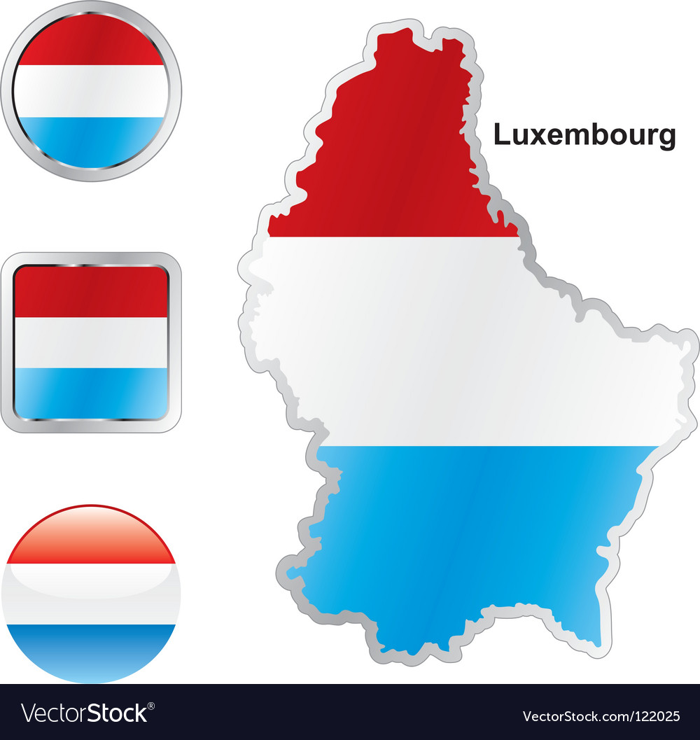 Luxembourg vector | Price: 1 Credit (USD $1)