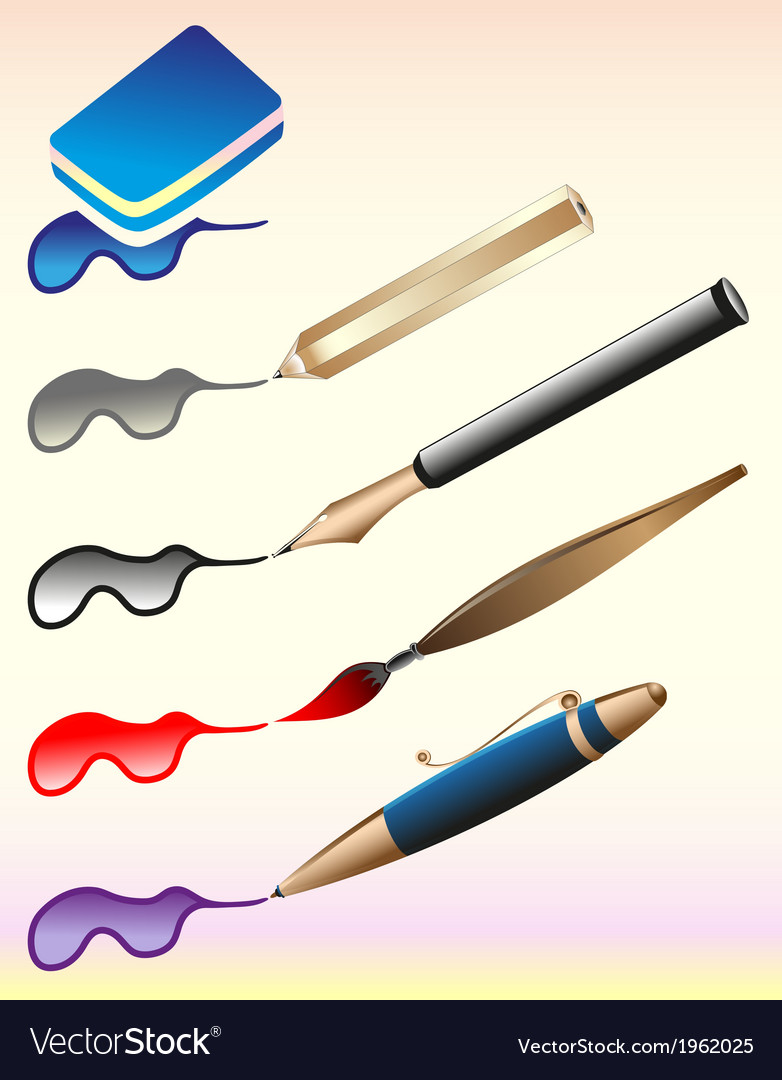 Set of office vector | Price: 1 Credit (USD $1)