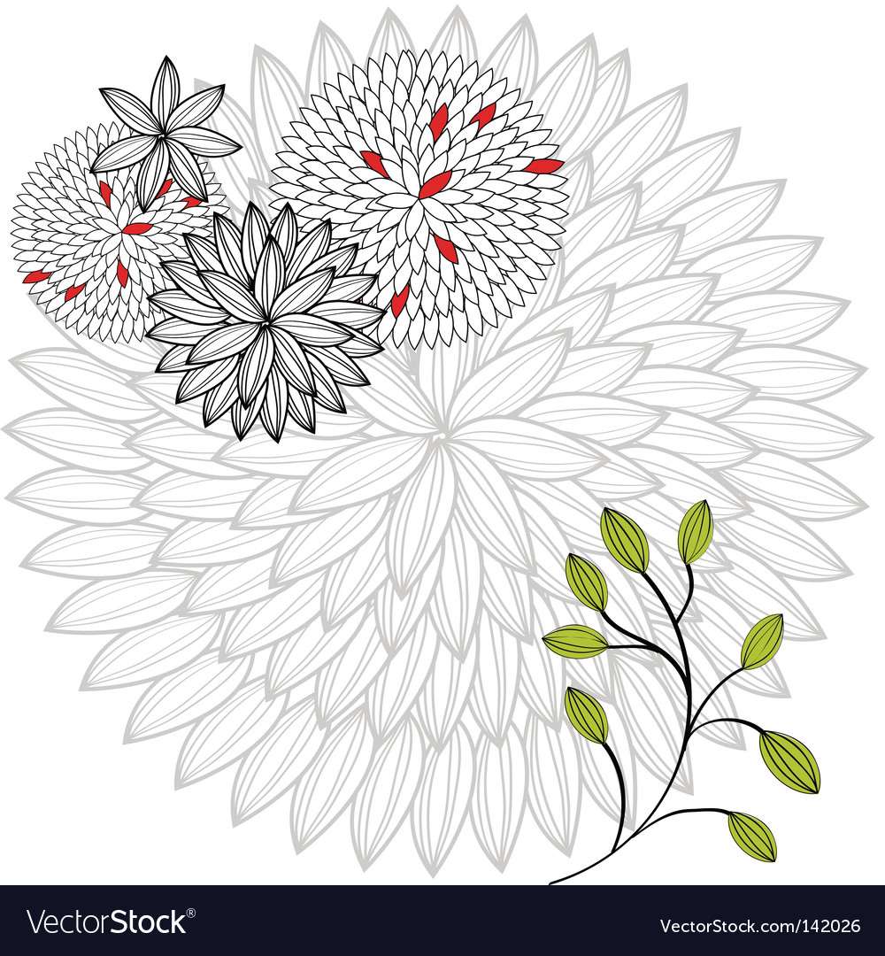 Background flowers vector   Price: 1 Credit (USD $1)
