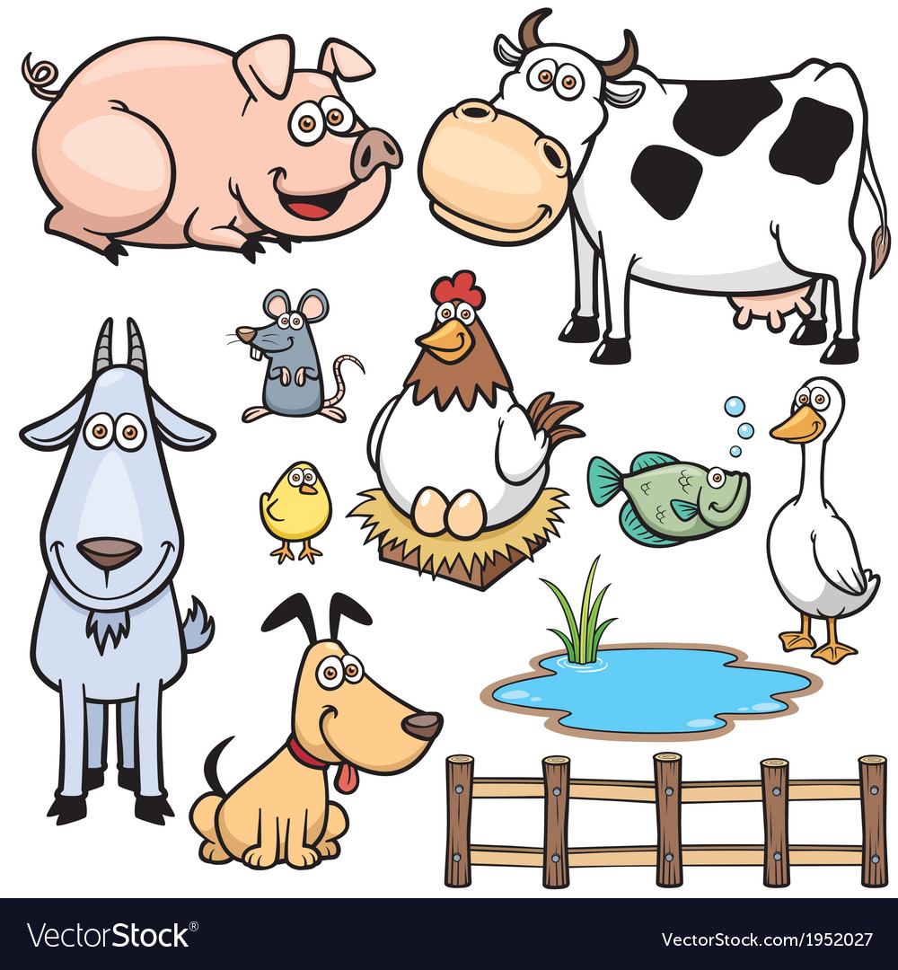 Animal farm vector | Price: 1 Credit (USD $1)