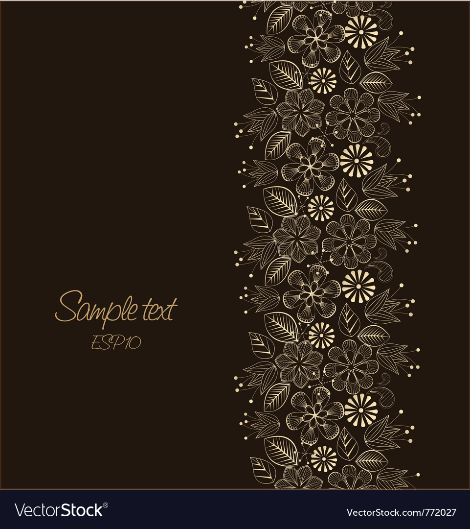 Beautiful floral vector | Price: 1 Credit (USD $1)