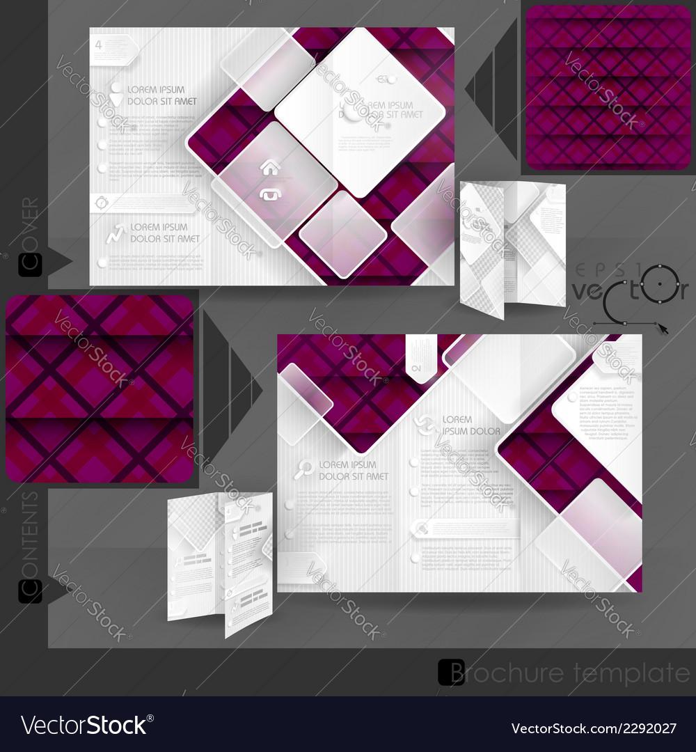 Business brochure template design vector   Price: 1 Credit (USD $1)