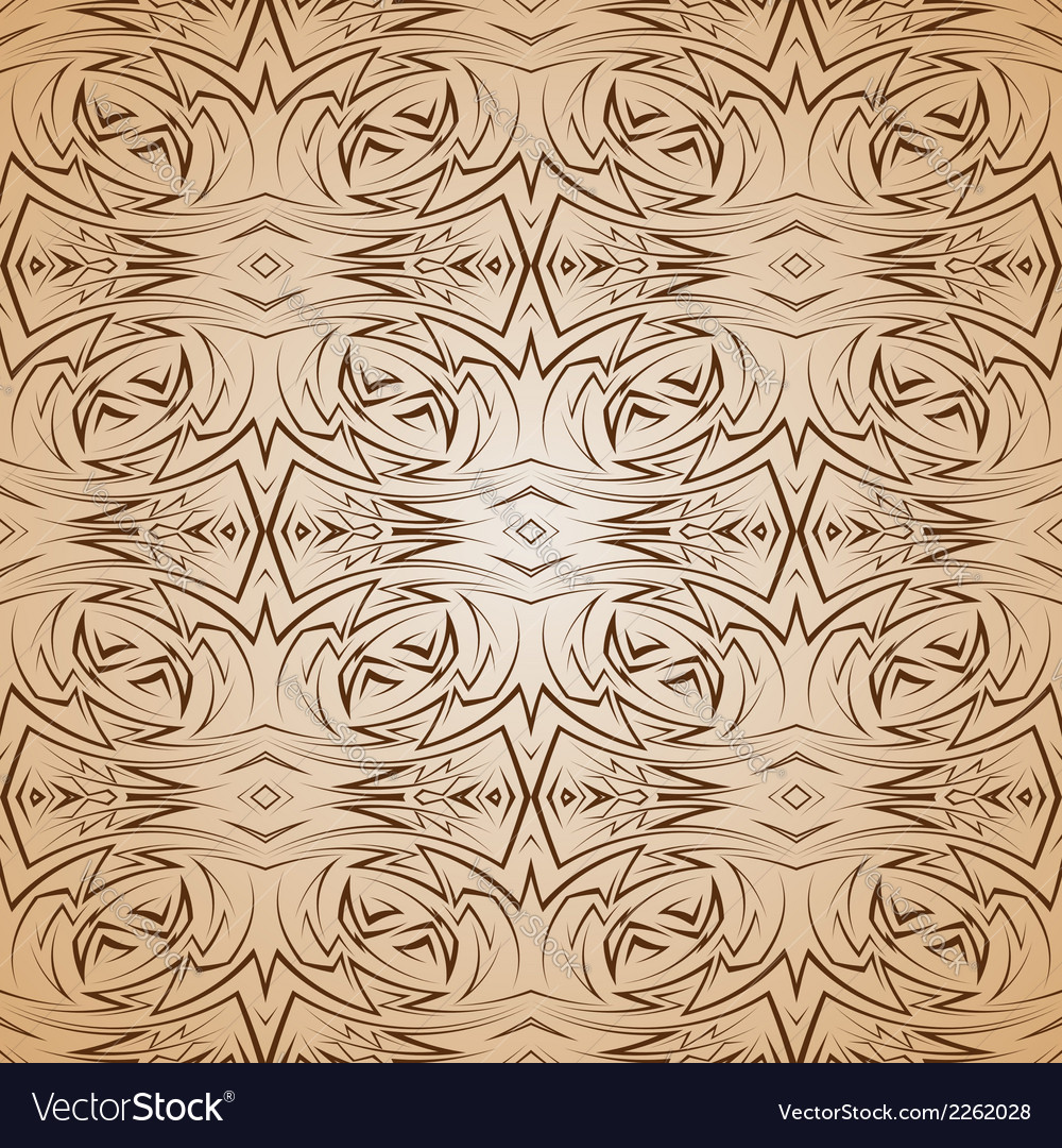 Abstract pattern in brown and beige vector | Price: 1 Credit (USD $1)