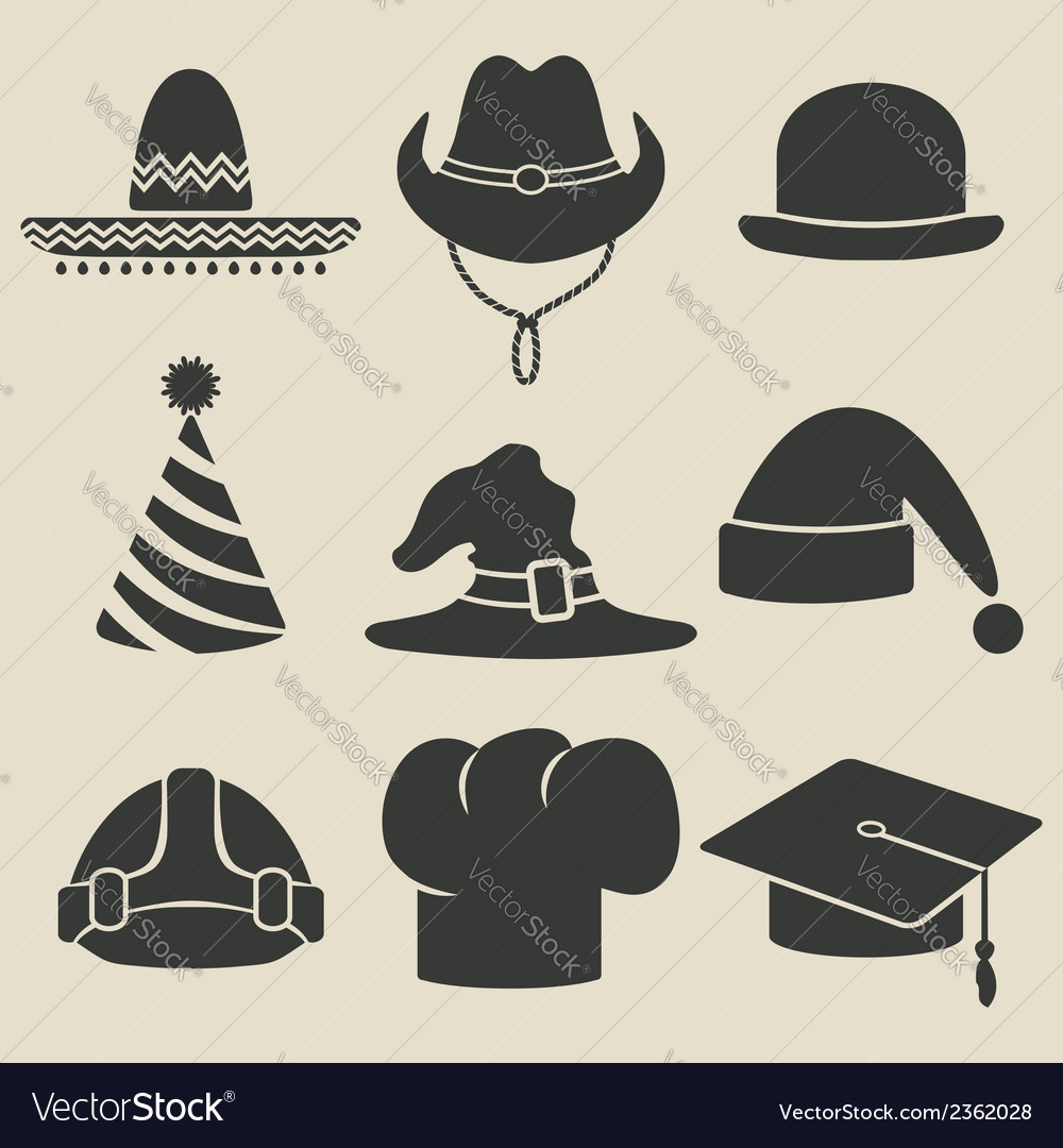 Party hat icon vector | Price: 1 Credit (USD $1)