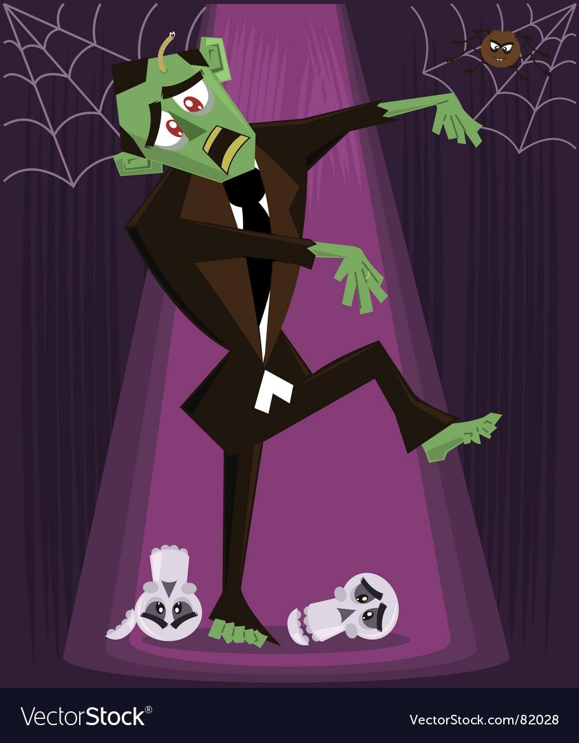 Zombie halloween vector | Price: 1 Credit (USD $1)
