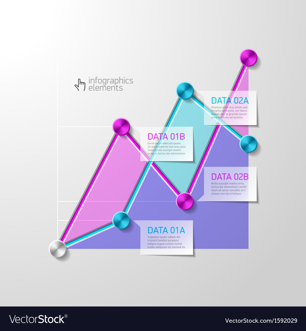 Abstract diagram infographics template vector | Price: 1 Credit (USD $1)