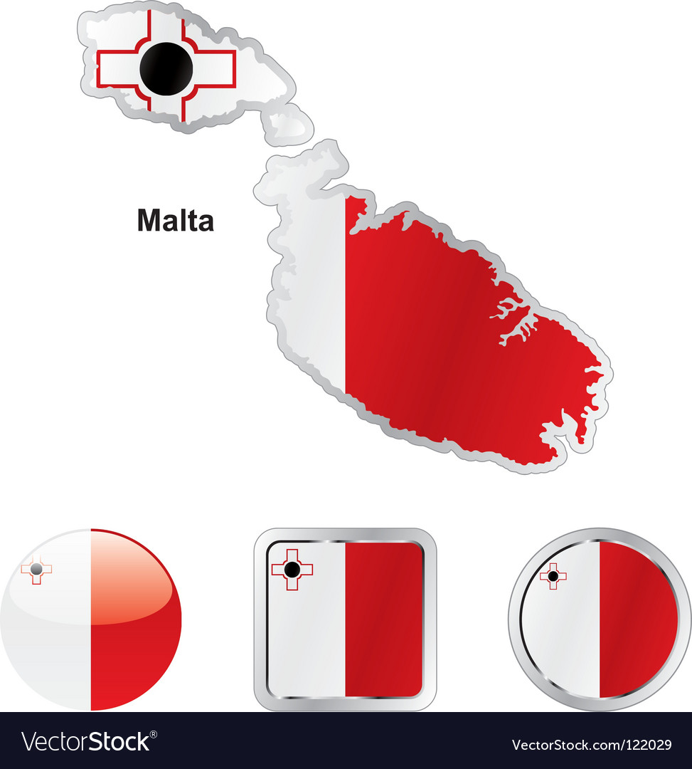 Malta vector | Price: 1 Credit (USD $1)