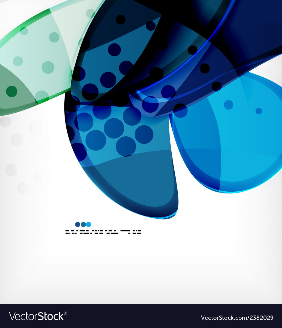 Round shapes abstract background vector | Price: 1 Credit (USD $1)