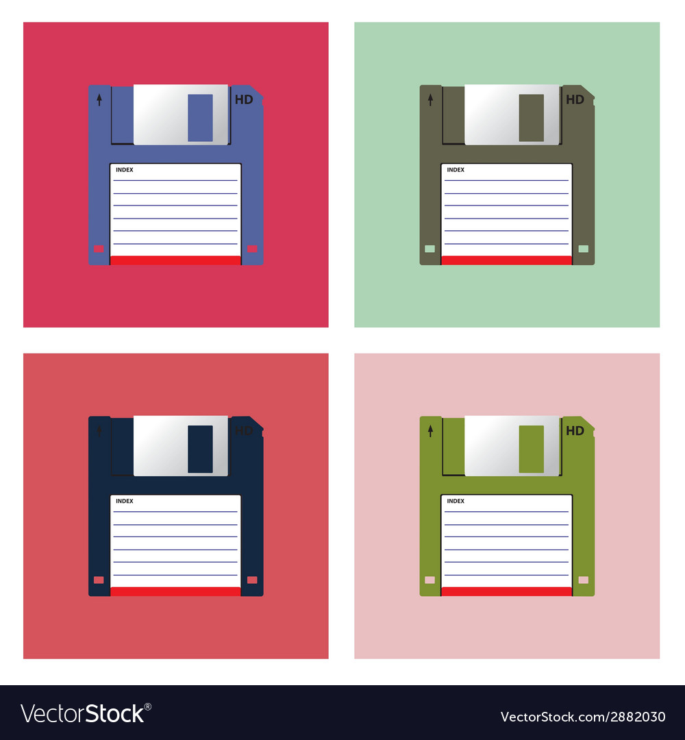 Diskette vector | Price: 1 Credit (USD $1)