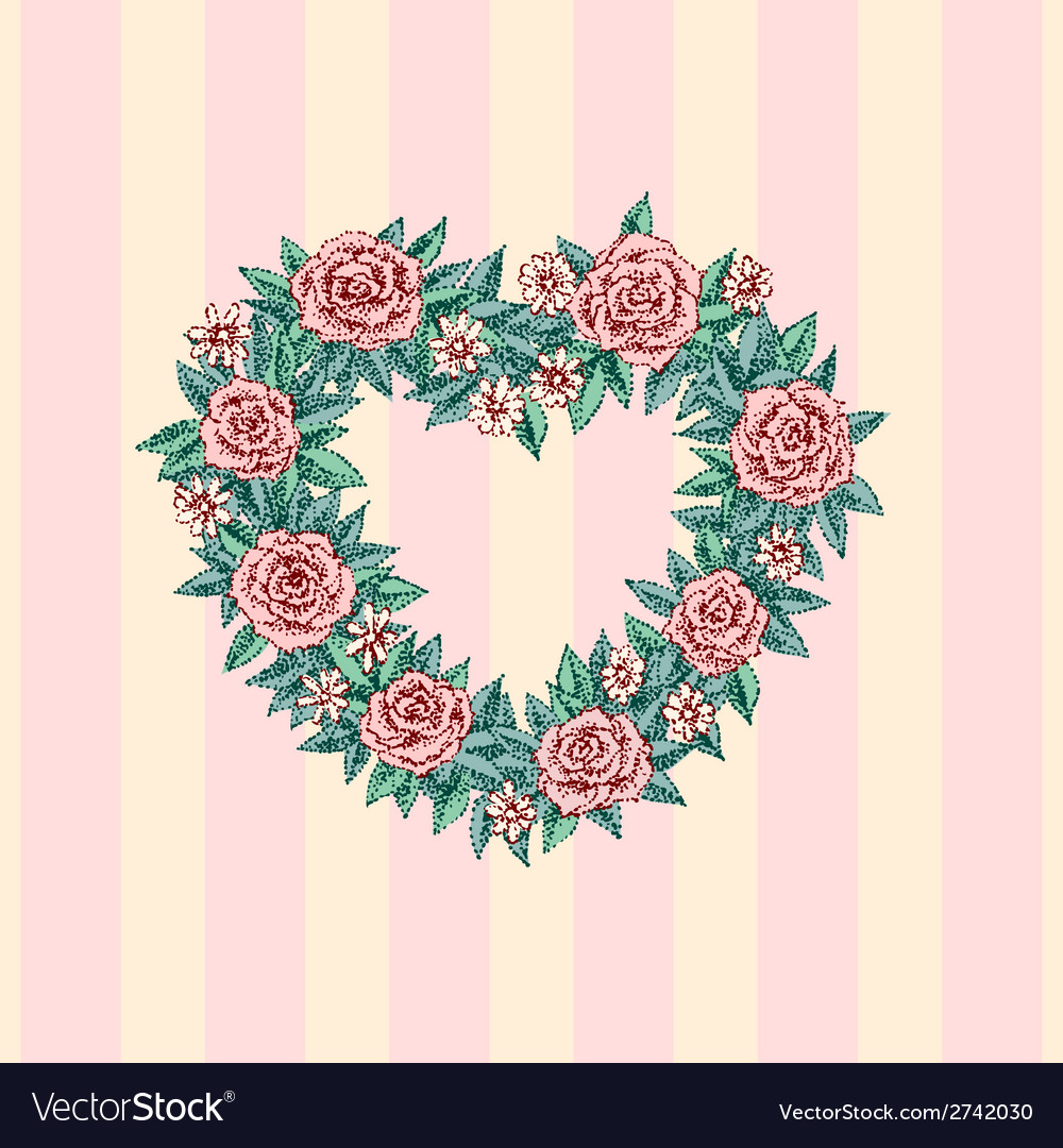 Wedding heart vector | Price: 1 Credit (USD $1)