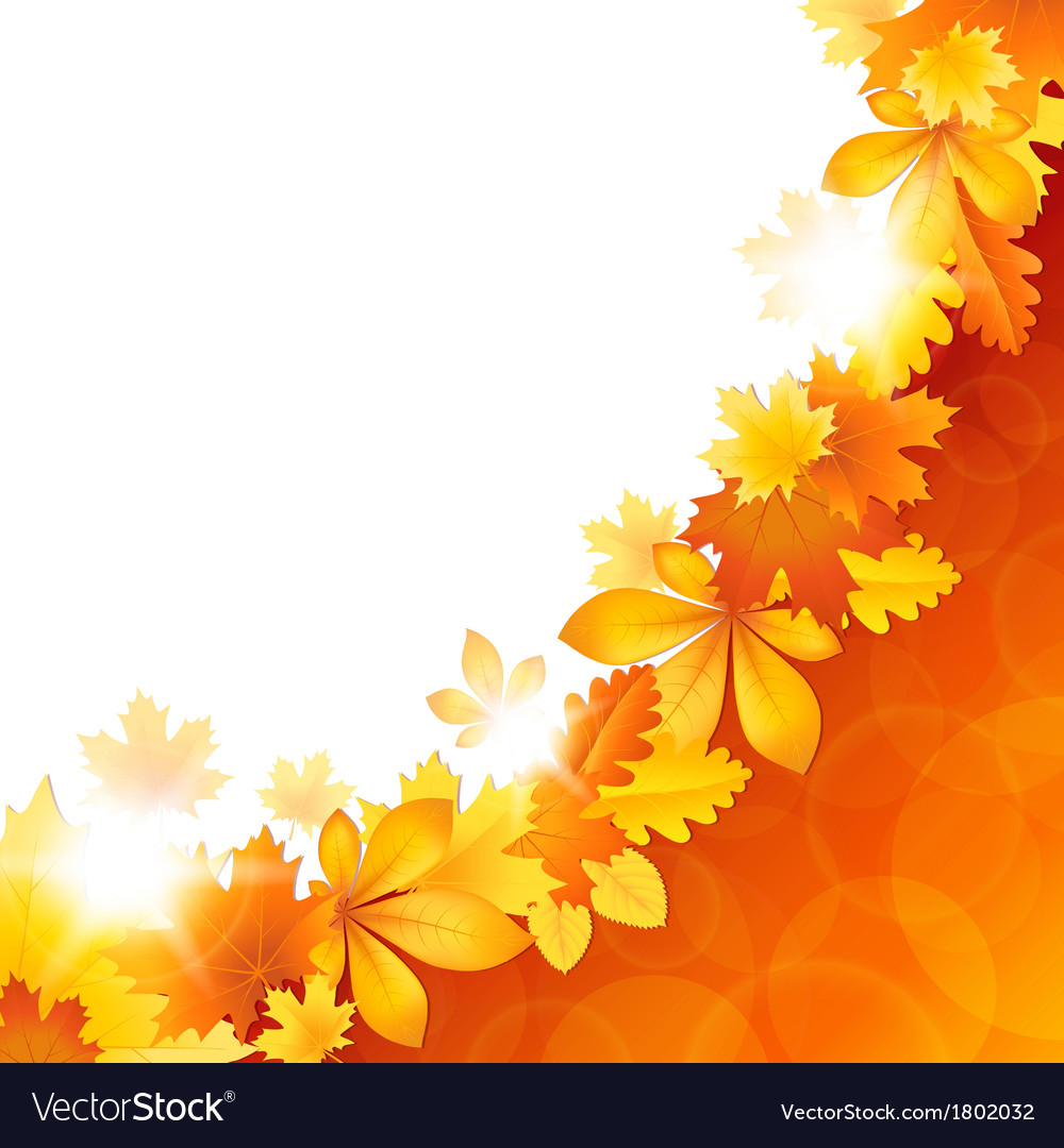 Background of the leaves vector | Price: 1 Credit (USD $1)