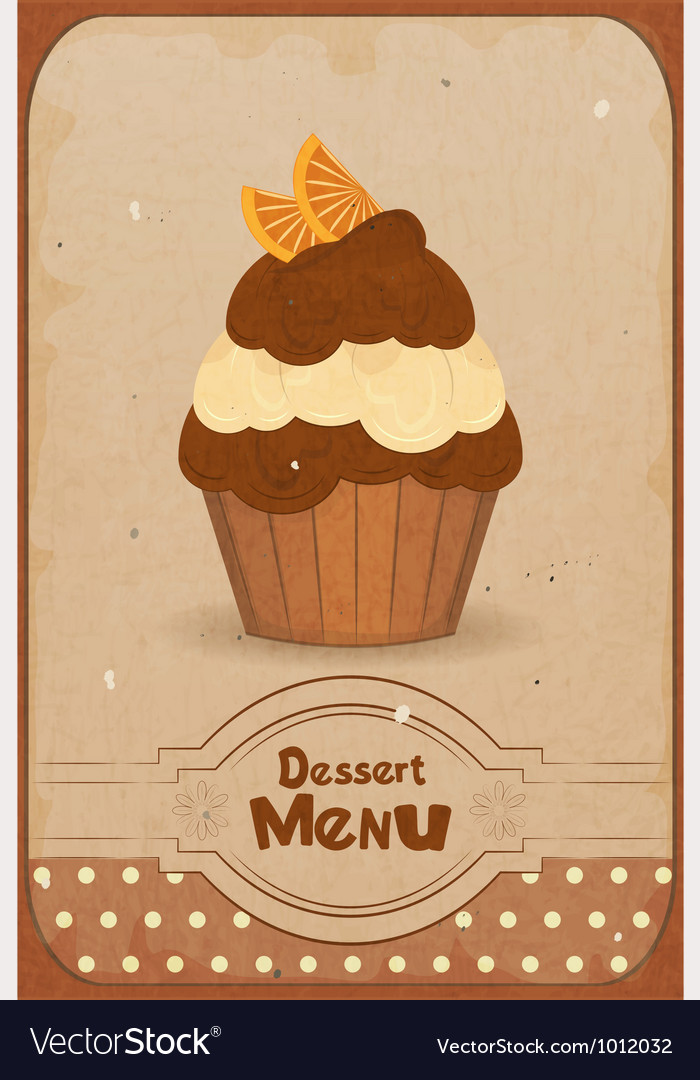 Muffin vector | Price: 1 Credit (USD $1)