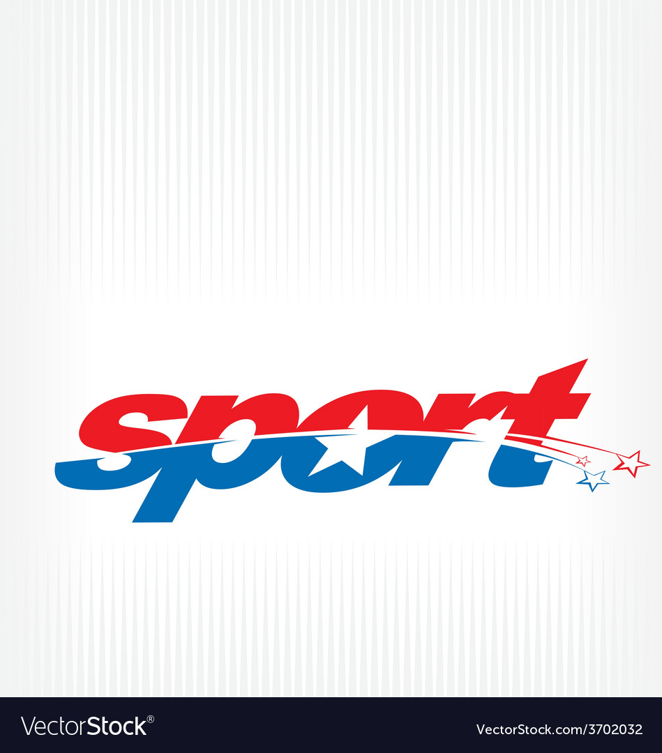 Sport logo vector | Price: 1 Credit (USD $1)