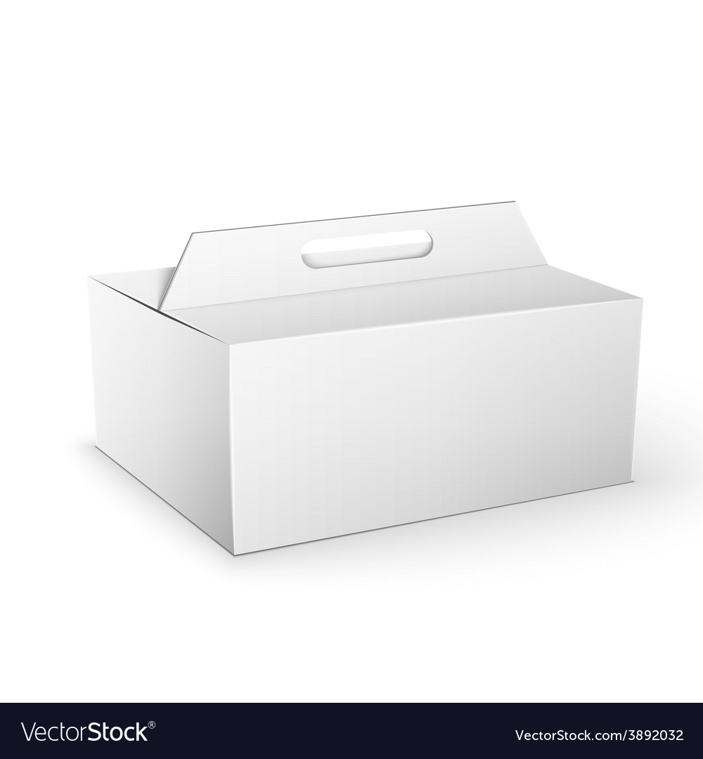 White product package box mock up template vector   Price: 1 Credit (USD $1)