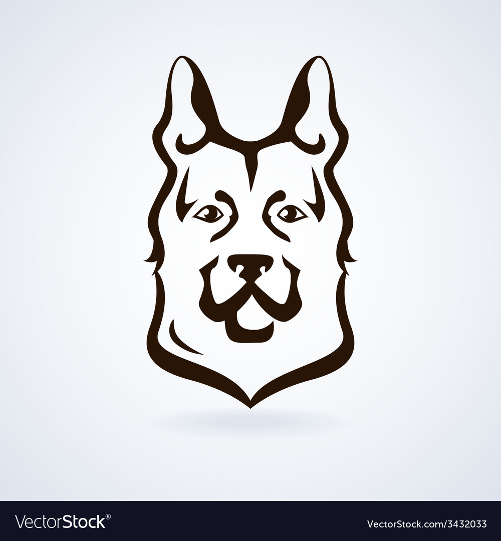 Dog icon vector | Price: 1 Credit (USD $1)
