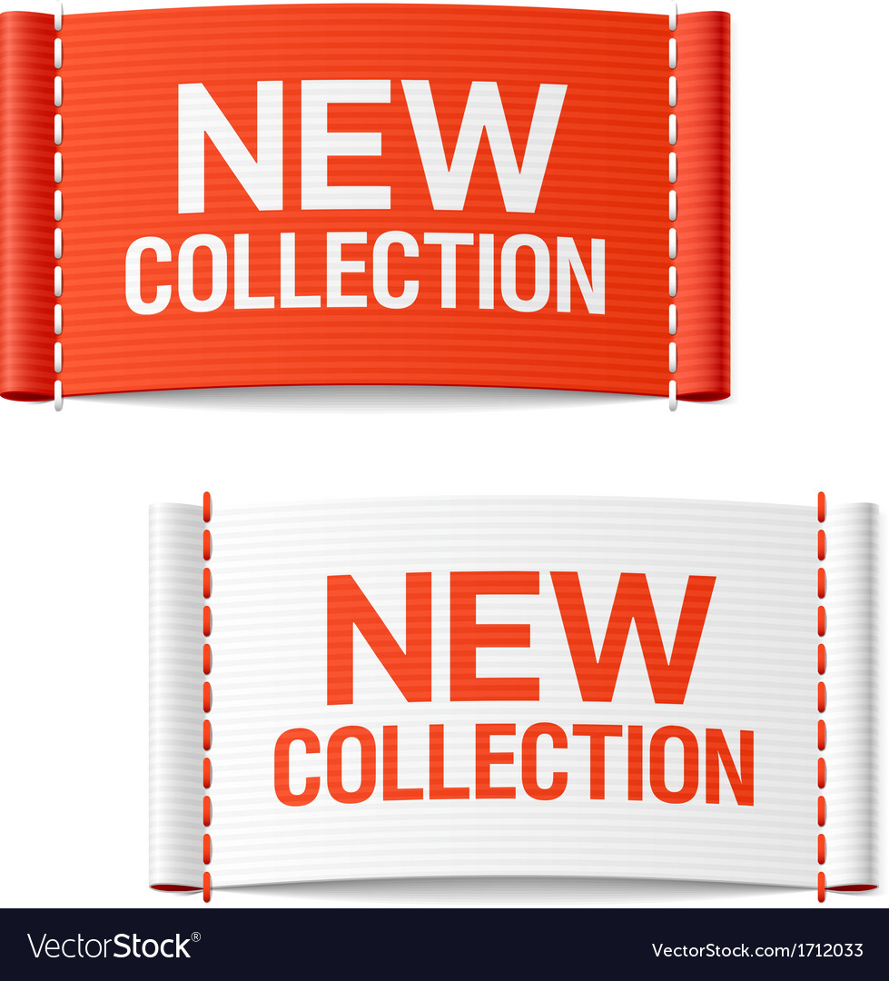 New collection clothing labels vector | Price: 1 Credit (USD $1)