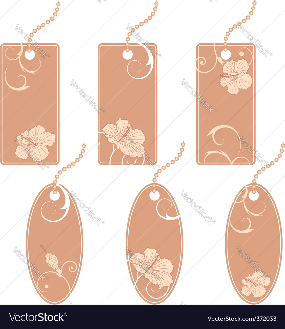 Set of the price tags vector | Price: 1 Credit (USD $1)
