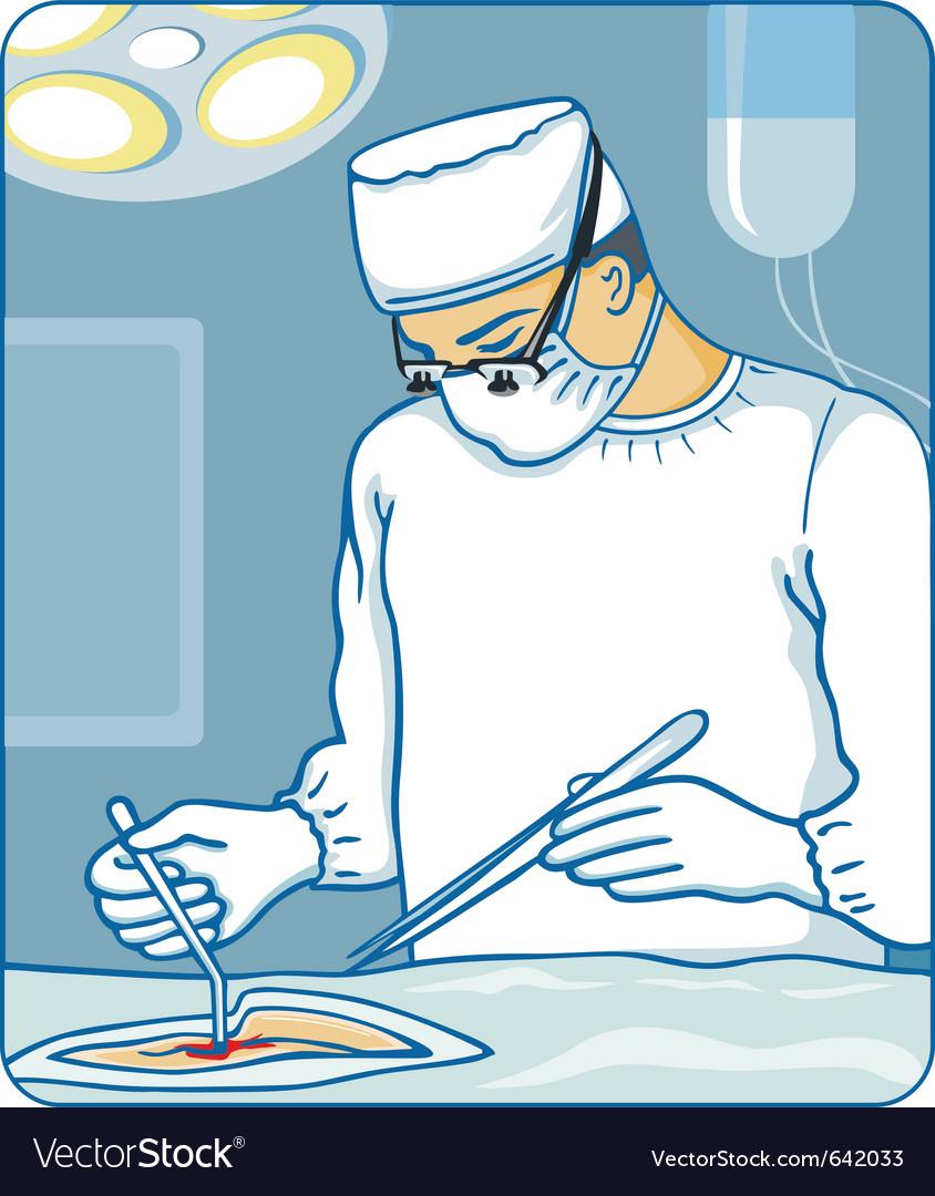 Surgeon vector | Price: 3 Credit (USD $3)