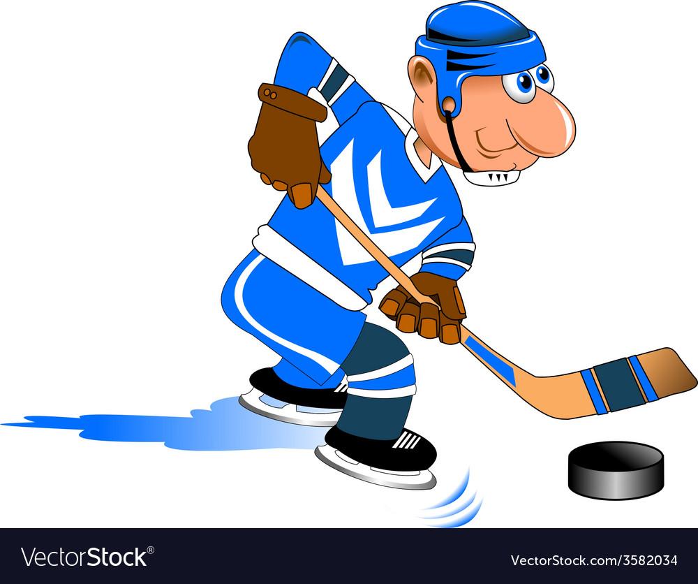 Cartoon sports player vector | Price: 1 Credit (USD $1)