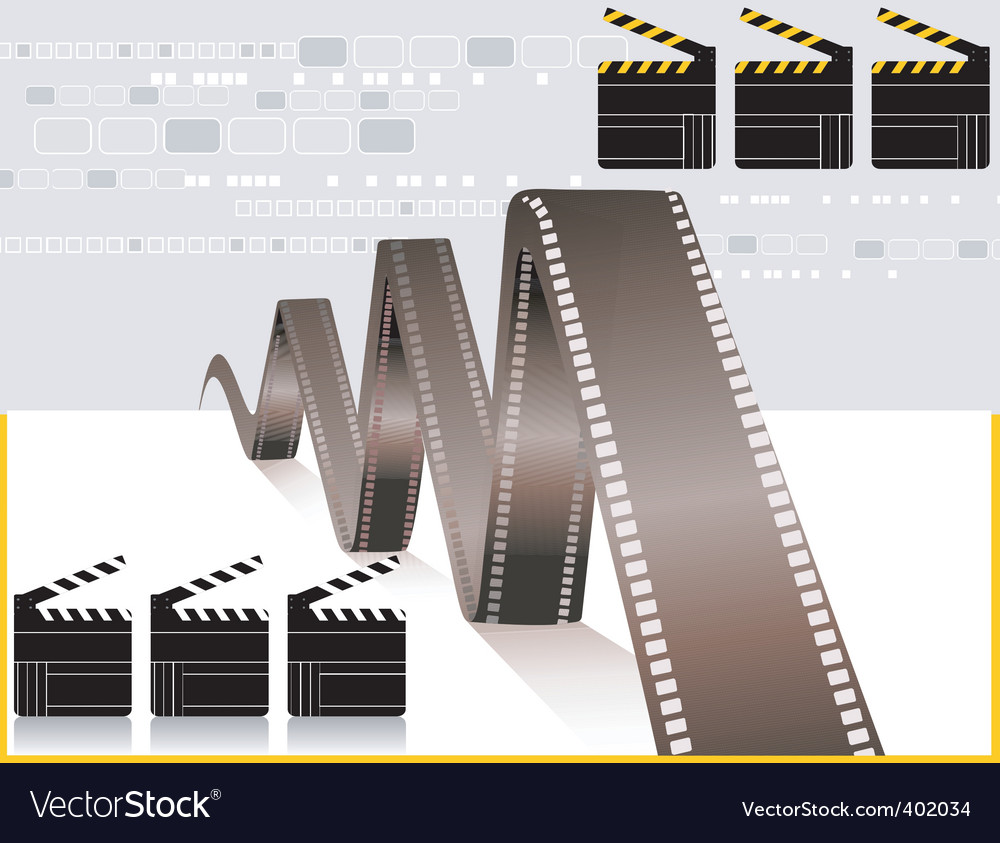 Film and clapboard vector   Price: 1 Credit (USD $1)