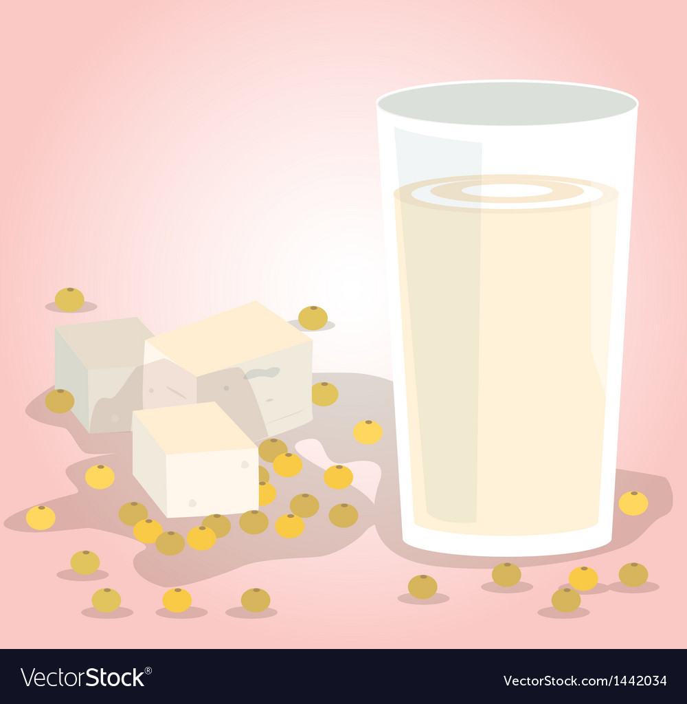 Soy milk vector | Price: 1 Credit (USD $1)