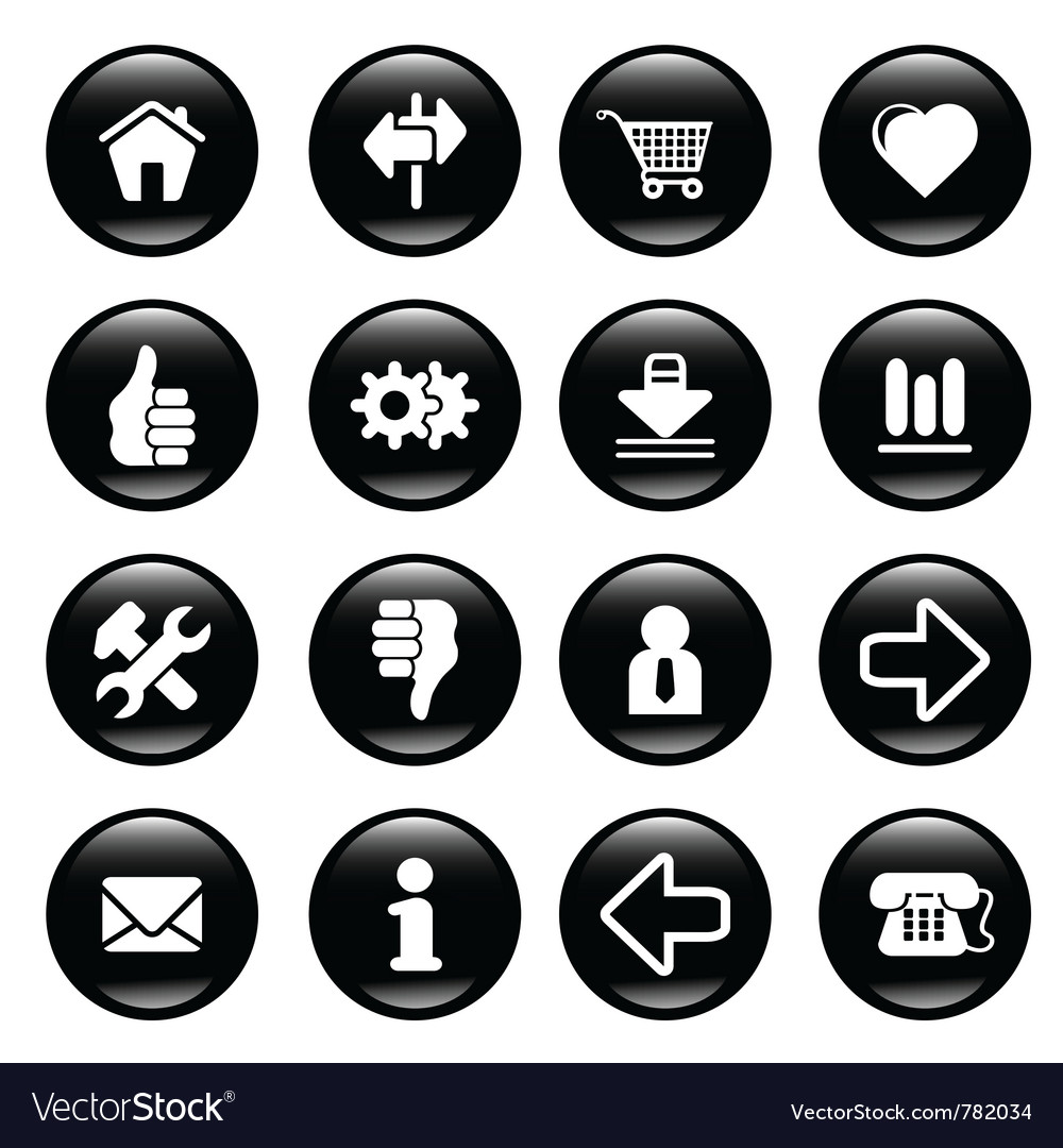 Web site icons vector   Price: 1 Credit (USD $1)