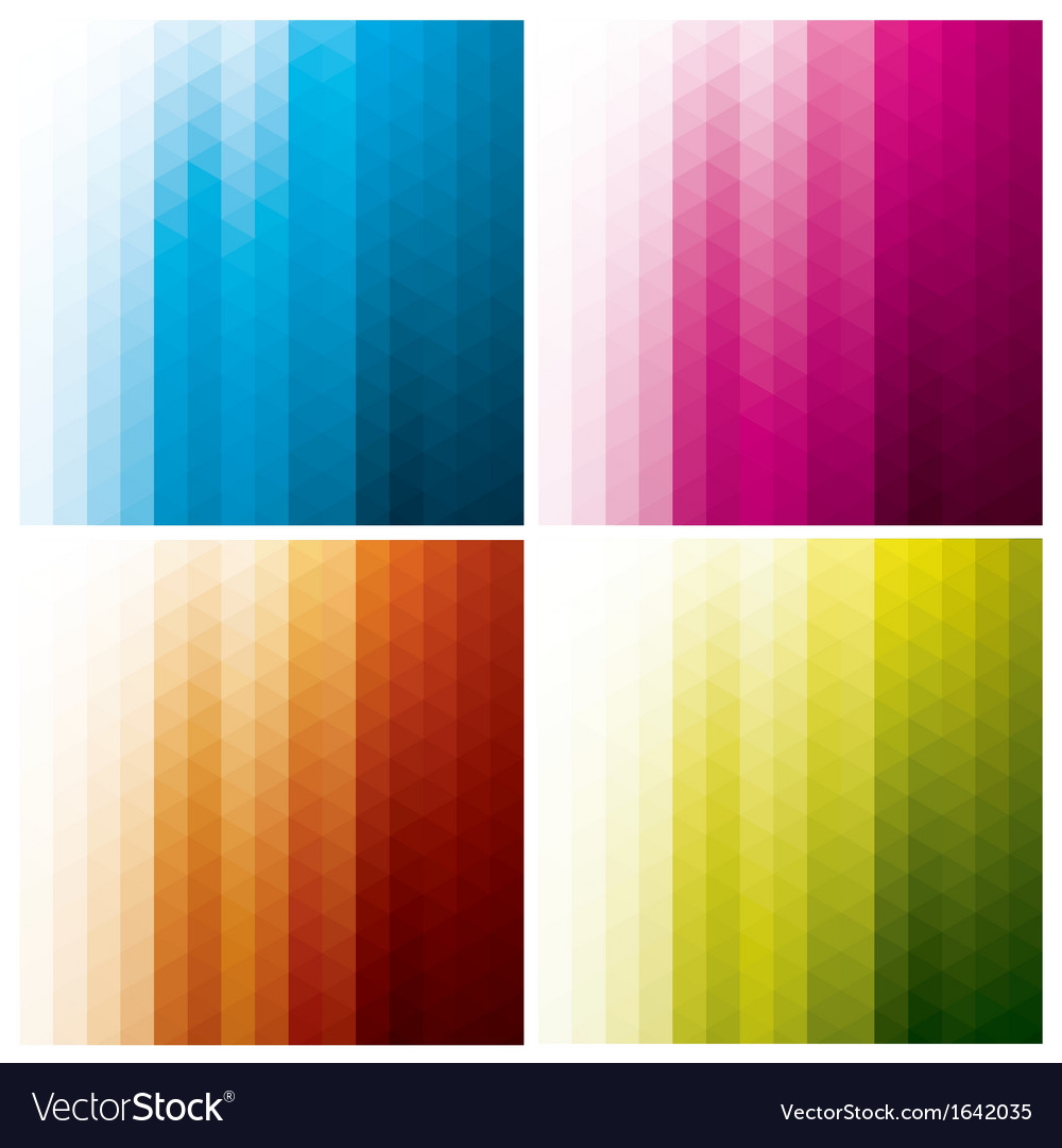 Abstract geometric backgrounds with triangles vector | Price: 1 Credit (USD $1)