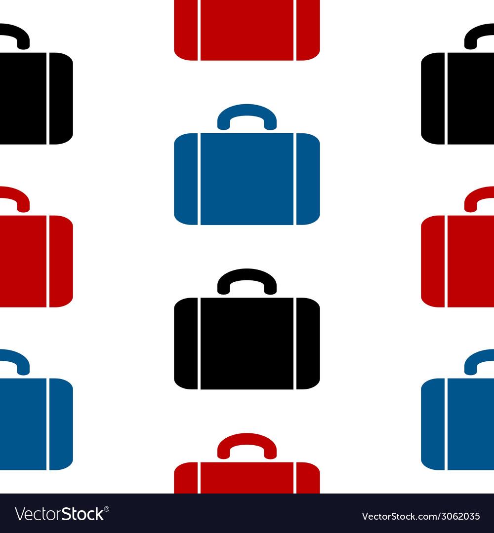 Portfolio symbol seamless pattern vector | Price: 1 Credit (USD $1)
