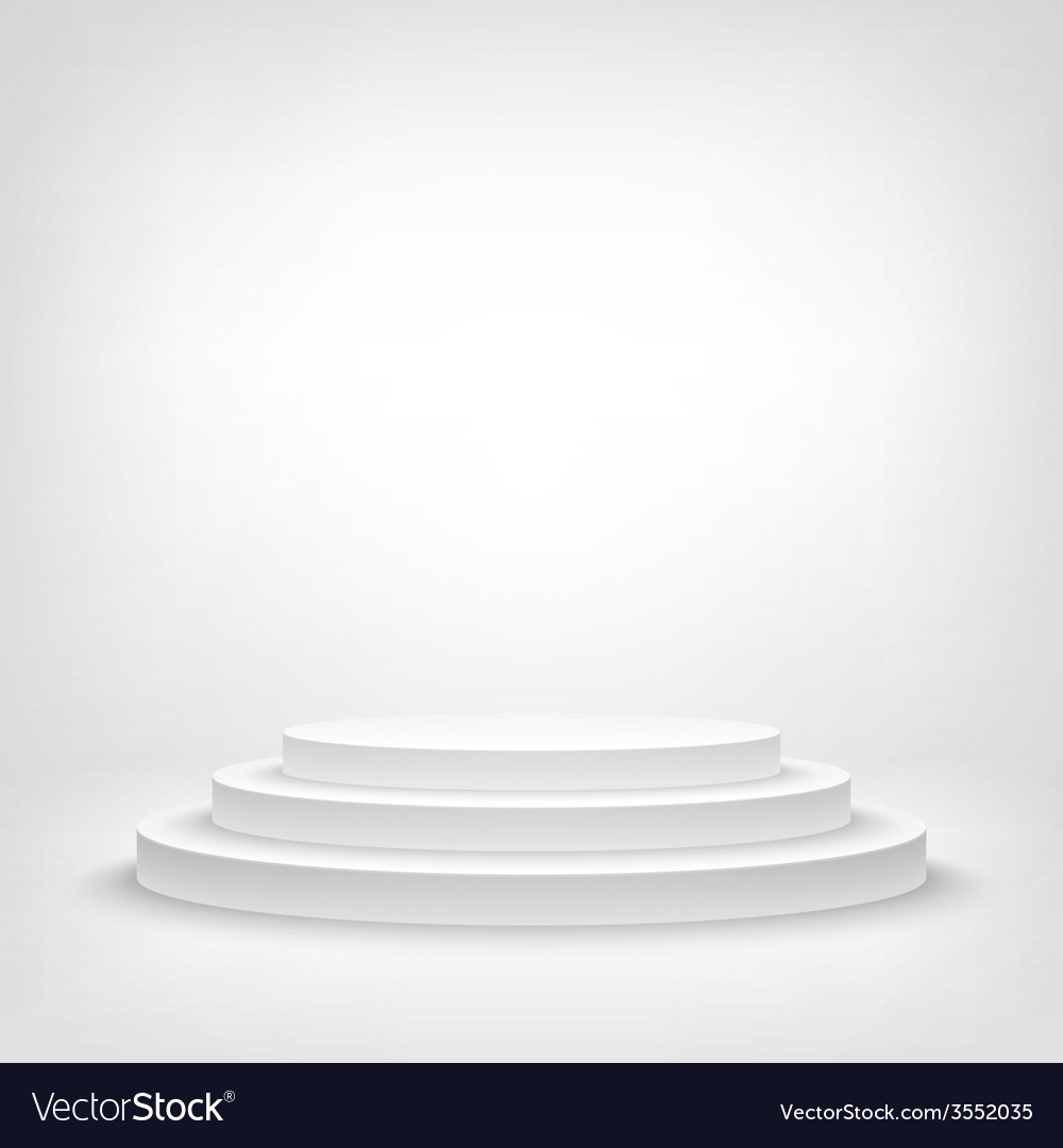 Stage podium award ceremony 3d show pedestal best vector | Price: 1 Credit (USD $1)