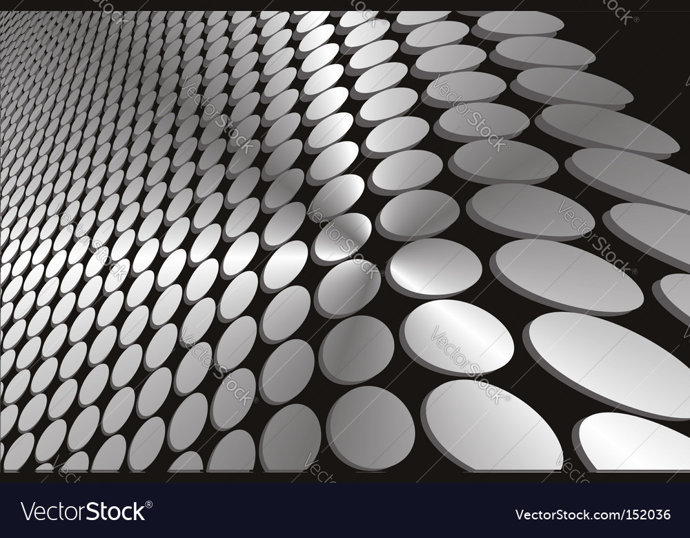 Abstract grey wavy circles background vector | Price: 1 Credit (USD $1)