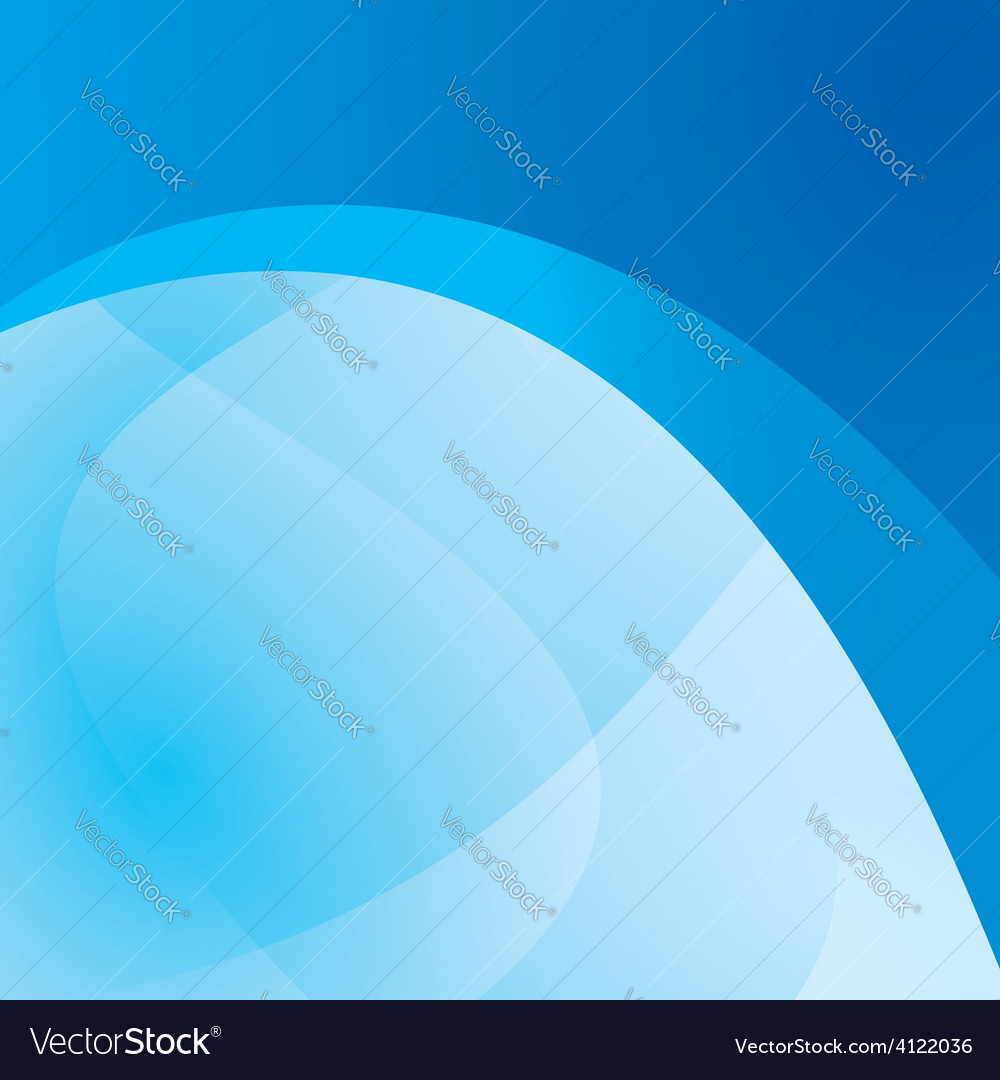 Blue background with wavy abstraction - design vector | Price: 1 Credit (USD $1)