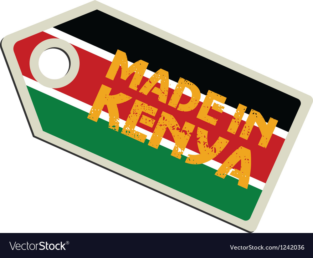 Made in kenya vector | Price: 1 Credit (USD $1)