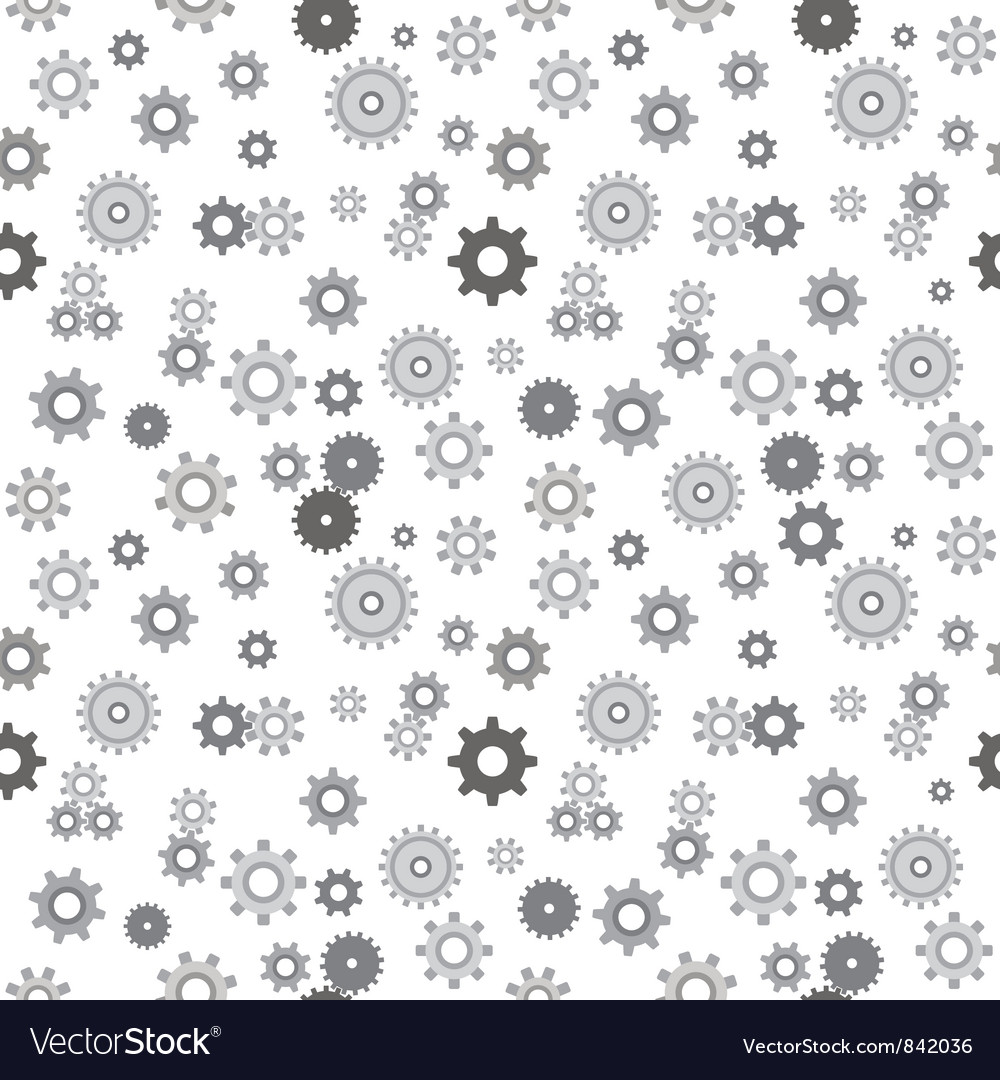 Mechanical pinions seamless vector | Price: 1 Credit (USD $1)