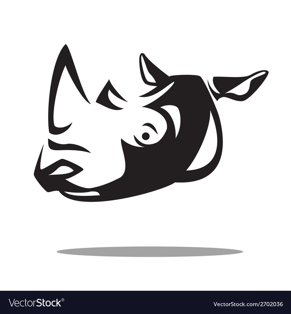 Rhino vector | Price: 1 Credit (USD $1)