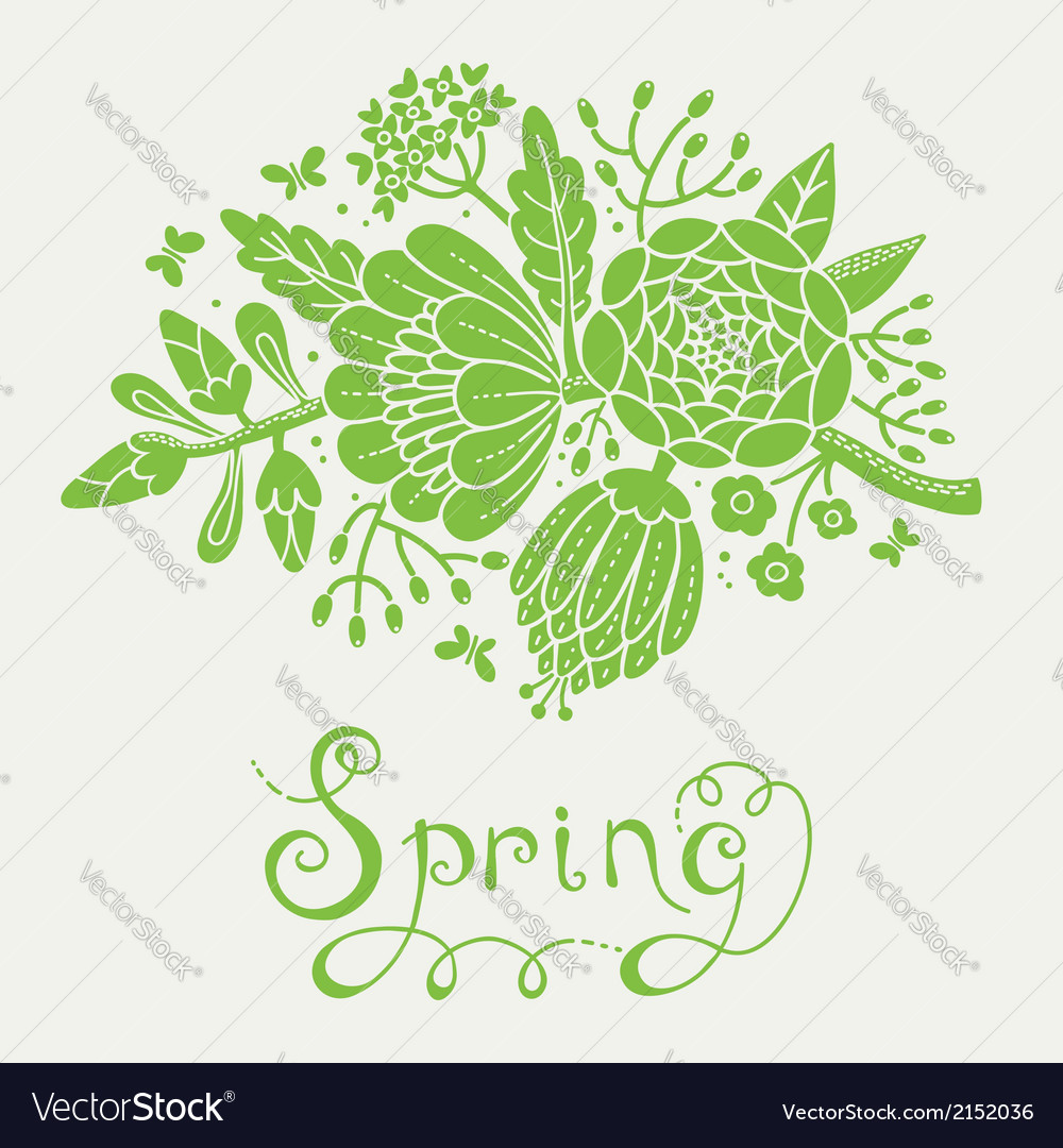 Vintage-card-with-a-blossoming-branch-vector