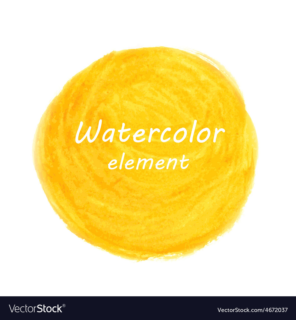Abstract watercolor art hand paint isolated on vector | Price: 1 Credit (USD $1)