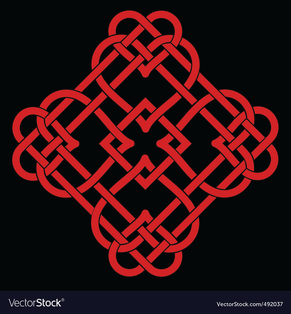 Celtic knot design vector | Price: 1 Credit (USD $1)