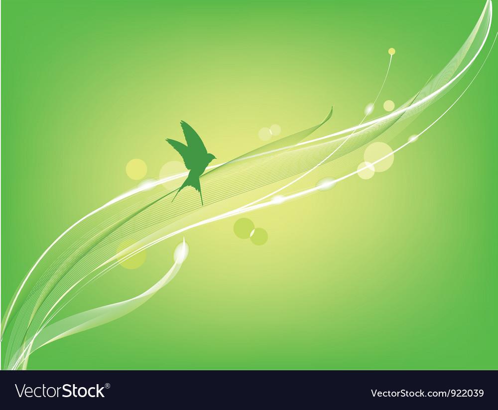 Bird flies vector | Price: 1 Credit (USD $1)