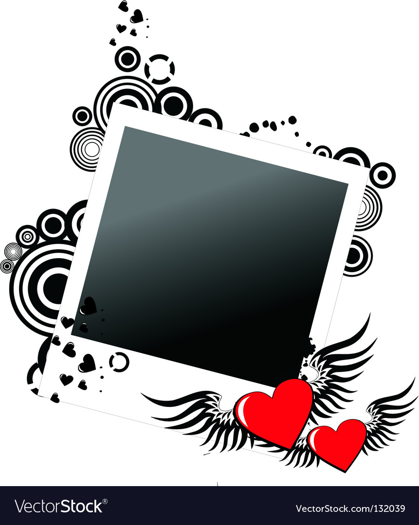 Valentine's frame vector | Price: 1 Credit (USD $1)