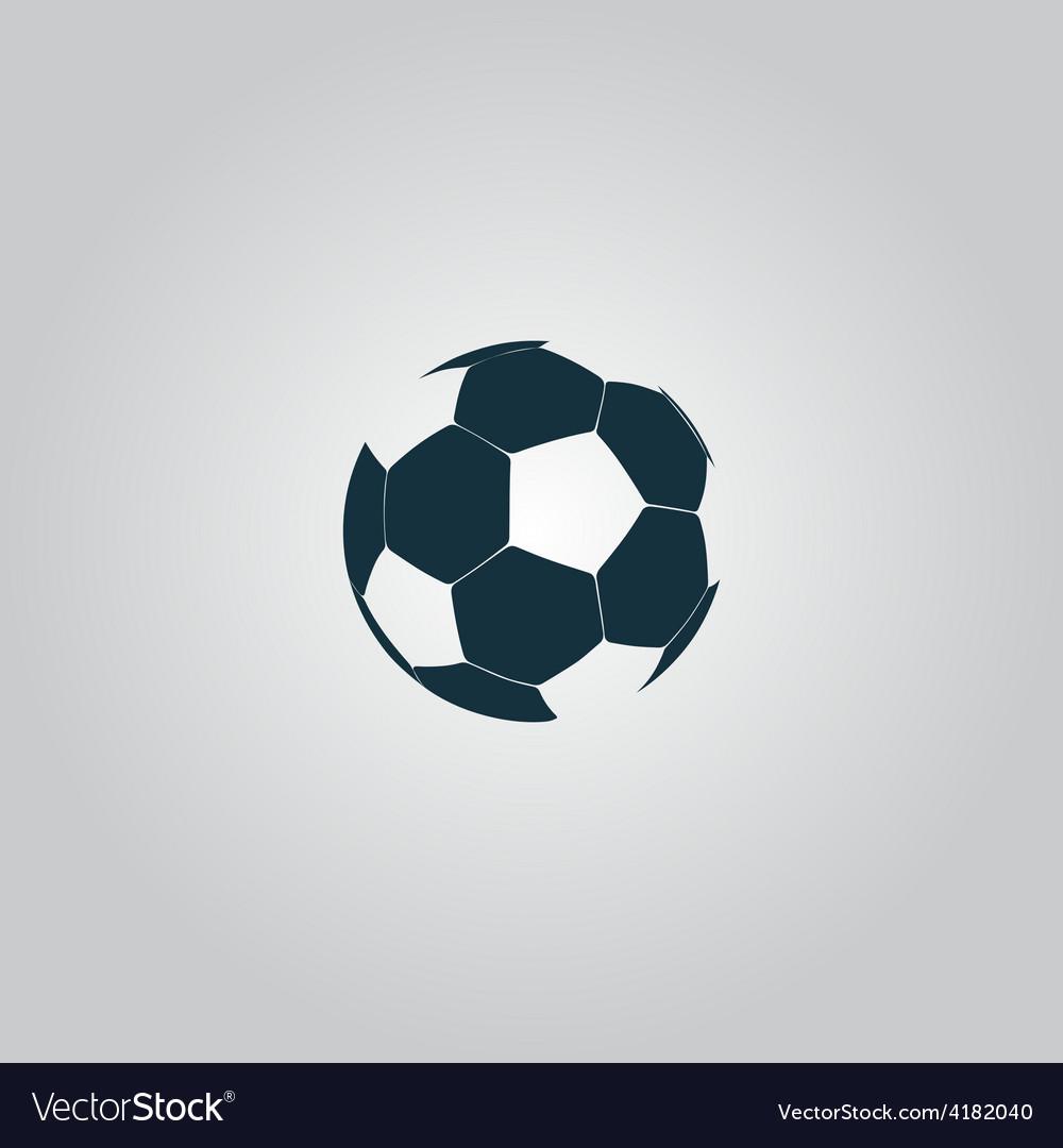 Football ball - soccer vector | Price: 1 Credit (USD $1)
