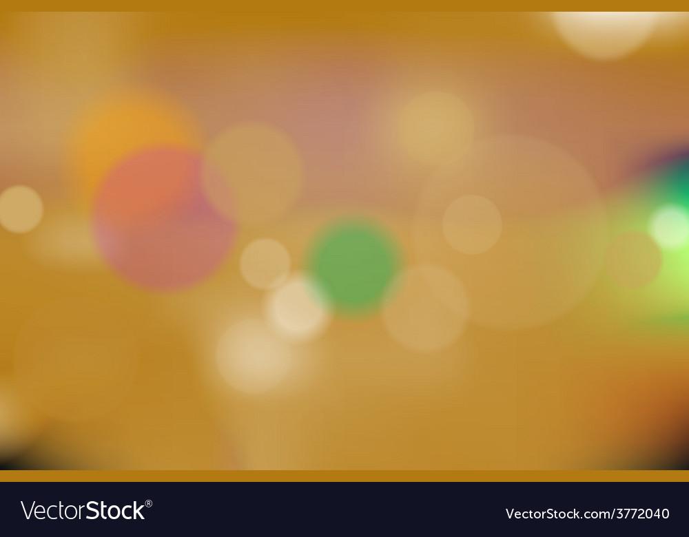 Orange bokeh background vector   Price: 1 Credit (USD $1)